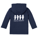 H4H Childrens Navy Zipped Hoody Bears in a Row