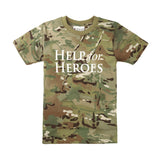 Help for Heroes Big Kids Camo T-shirt