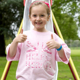 Help for Heroes Childrens Vigour T-shirt pink