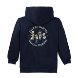 Help for Heroes Children's Team Bear Zipped Hoody reverse