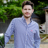 Help for Heroes Long Sleeve Check Brompton Shirt