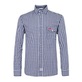 Help for Heroes Navy Check Brompton Shirt