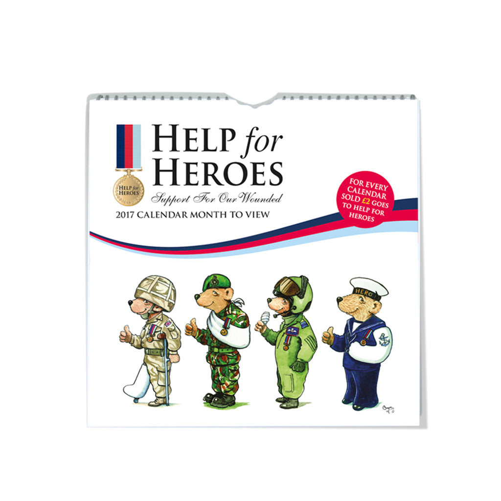 Carousel Calendars - Help for Heroes calendars and diaries