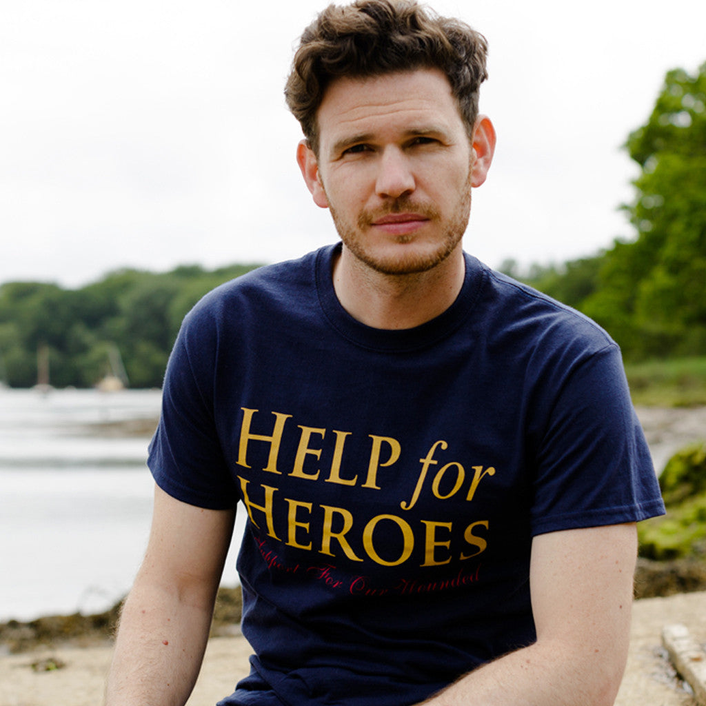 Help for Heroes Navy Essential T-shirt