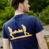 Help for Heroes Navy Essential Logo T-shirt