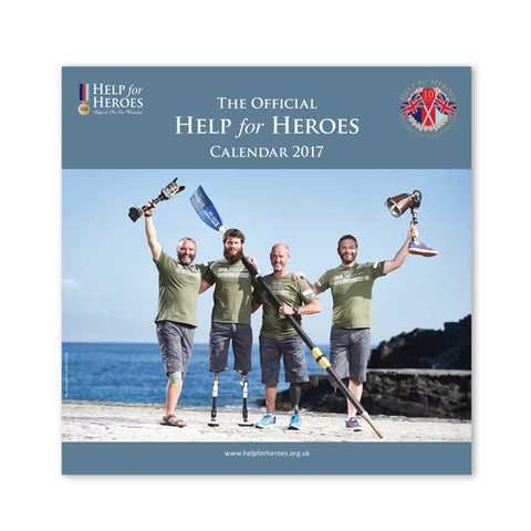 Help for Heroes Official Calendar 2017