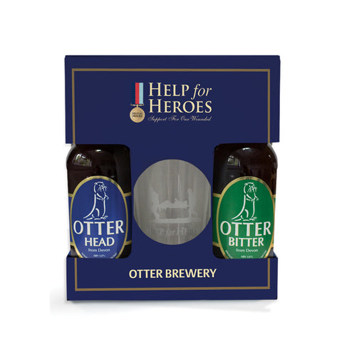 Help for Heroes Otter Brewery Gift Set