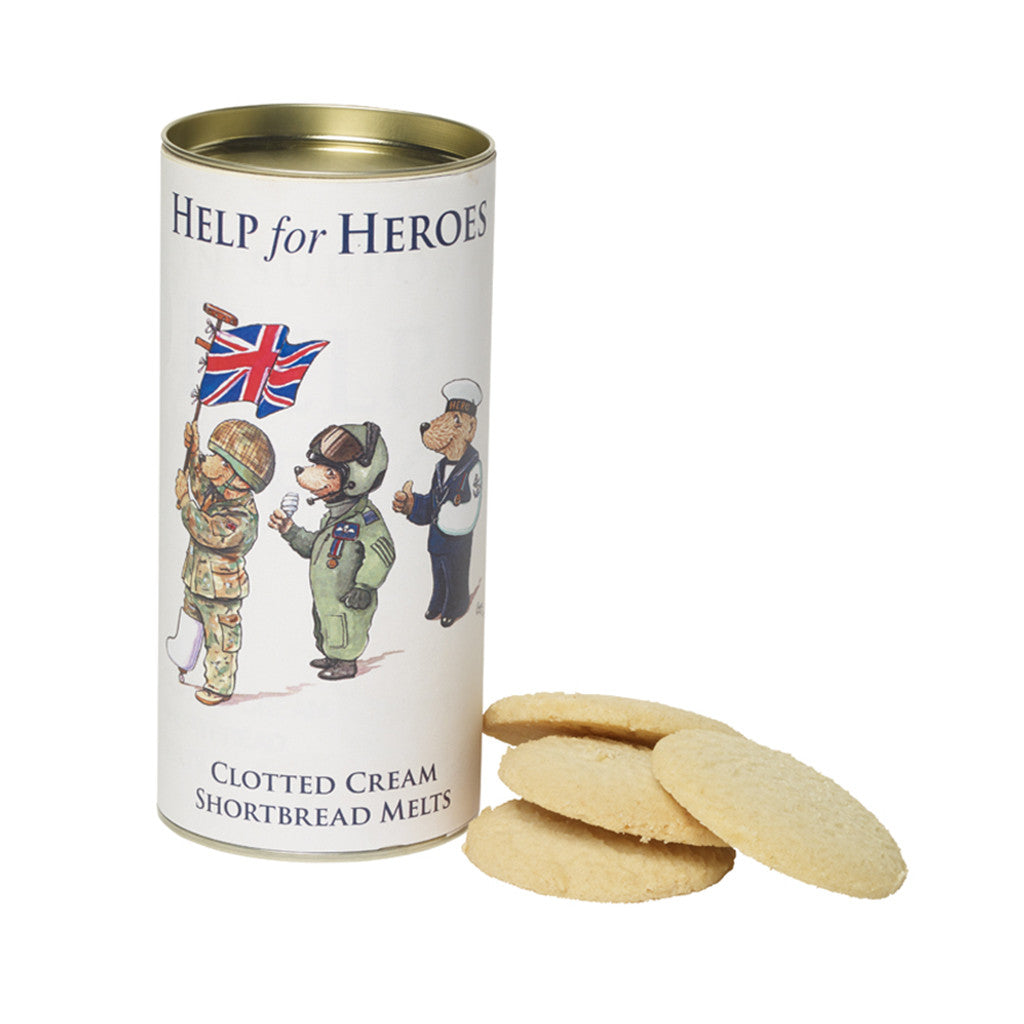 Help for Heroes Clotted Cream Shortbread