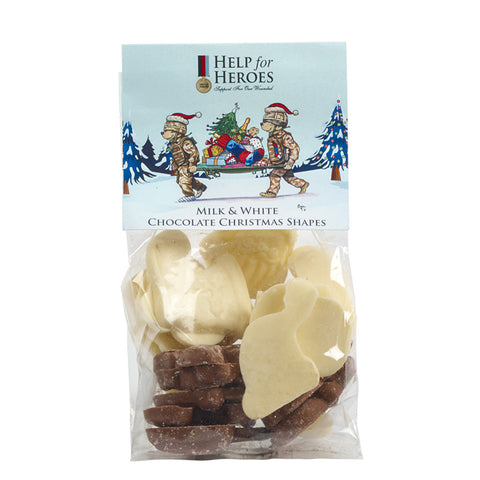 Help for Heroes Chocolate Xmas Shapes