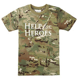 Help for Heroes Kids Camo T-shirt