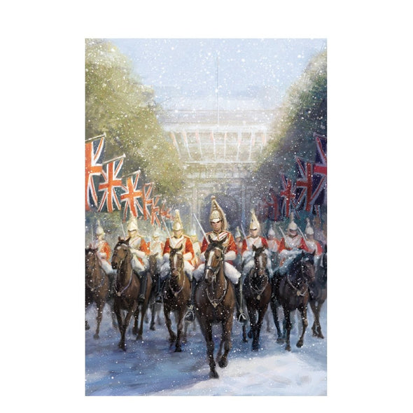Help for Heroes Horseguard Christmas Christmas Cards