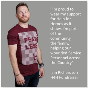 Be proud to wear your support for Help for Heroes