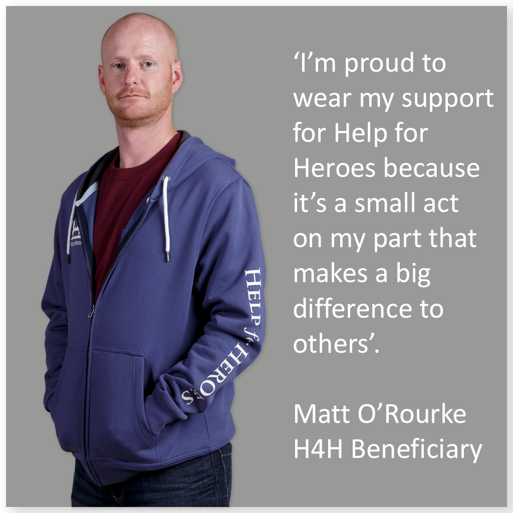 Be proud to wear your support for our heroes