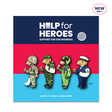 Help for Heroes Month to View Calendar