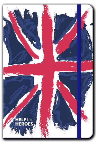 Help for Heroes Union Flag Notebook