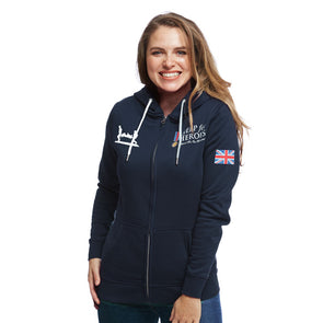 Help for Heroes Navy Heritage Zipped Hoody