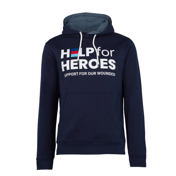 Help for Heroes Navy Honour Pullover Hoody and Stay Strong T-Shirt Set