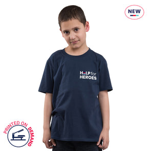 Children's Navy Small Honour T-Shirt