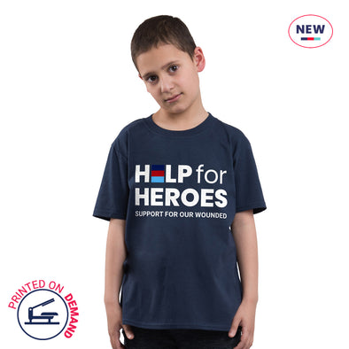 Children's Navy Honour T-Shirt