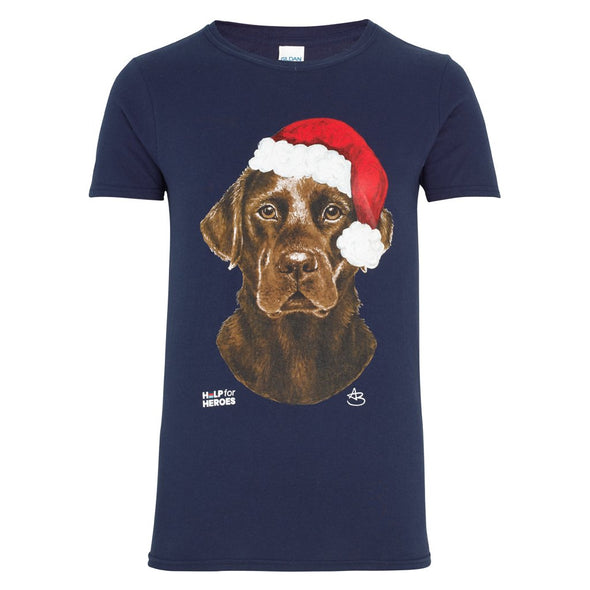 Help for Heroes Navy Harry Christmas T-Shirt
