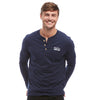 Help for Heroes Navy Henley T-Shirt