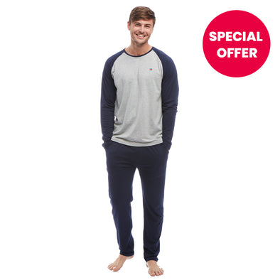Help for Heroes Navy Jersey Pyjama Set