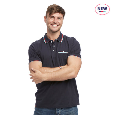 Help for Heroes Navy Marl Spirit Polo