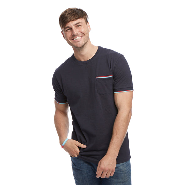 Help for Heroes Navy Marl Spirit T-Shirt