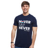 Help for Heroes NeverSayNever T-Shirt