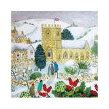 Help for Heroes Church in snow Christmas Card
