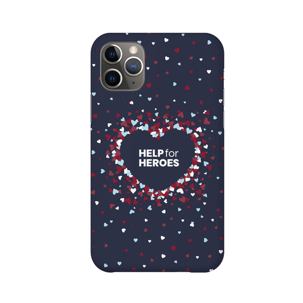 Scattered Hearts Phone Case