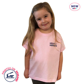 Children's Pink Small Honour T-Shirt