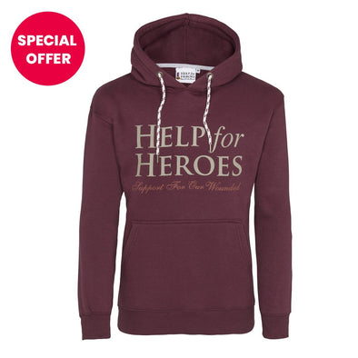 Help for Heroes Raisin Valour Hoody