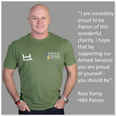Be proud to show your support like Ross Kemp