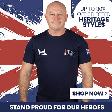 Up to 30% off Selected Heritage Styles