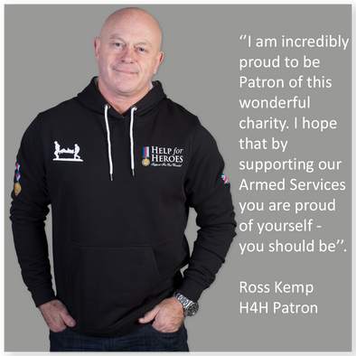 Be proud to support our heroes like Ross Kemp