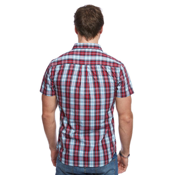 Help for Heroes Tri Colour Saltash Check Shirt