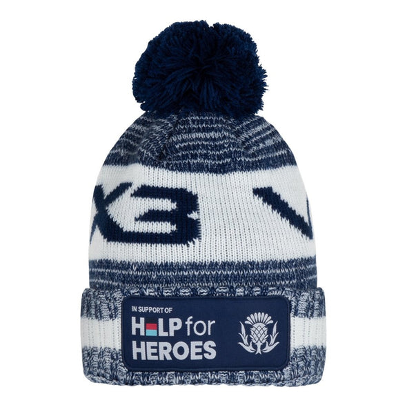 Help for Heroes Scotland Rugby Bobble Hat