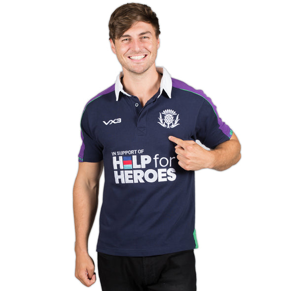 Help for Heroes Scotland Rugby Shirt