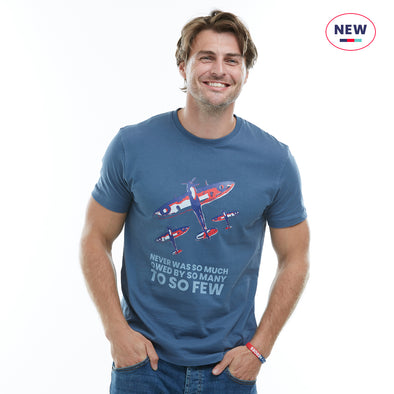 Help for Heroes Bering Sea So Much Owed Spitfire T-Shirt
