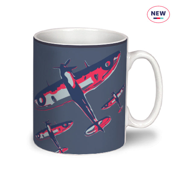 Help for Heroes So Much Owed Spitfire Mug