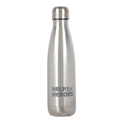Help for Heroes Stainless Steel Reusable Flask