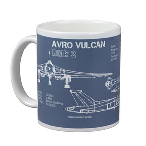 Help for Heroes Steel Blue Vulcan Mug