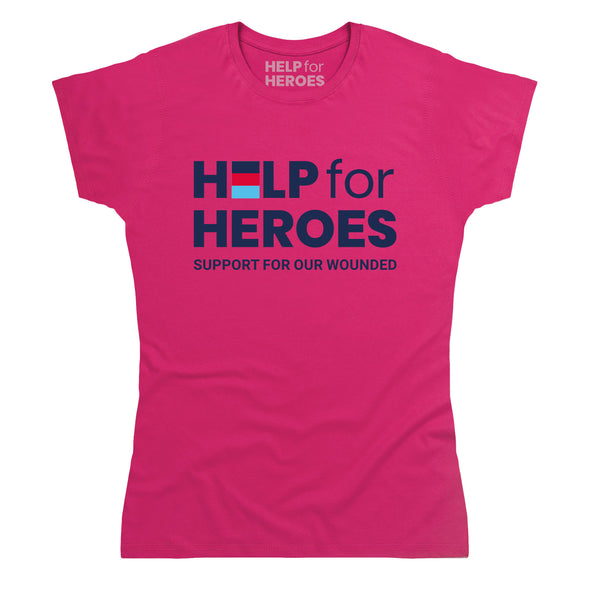 Help for Heroes Pink Honour T-Shirt