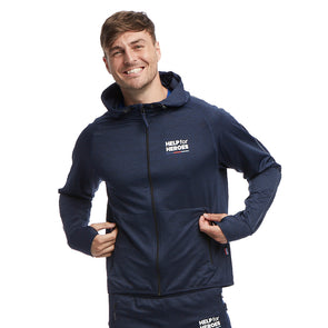 Help for Heroes Union Jack Technical Hoody