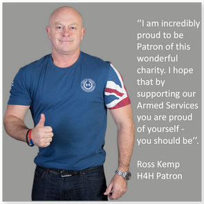 Wear your support for our heroes and help to change lives.