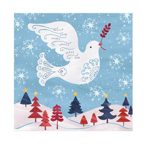 Help for Heroes Peace Dove Christmas Card
