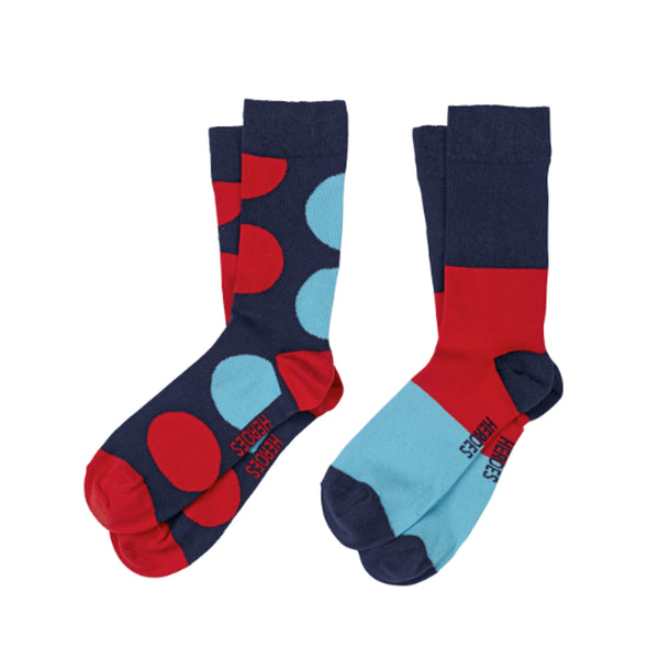 Help for Heroes Tri Colour Socks Twin Pack