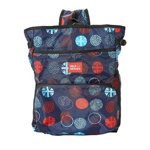 Help for Heroes Tri Union Jack Dots Foldaway Cooler Backpack