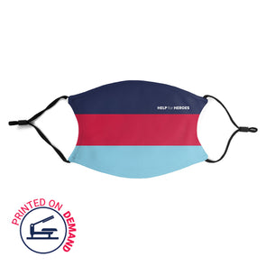 Help for Heroes Tri Stripe Face Covering